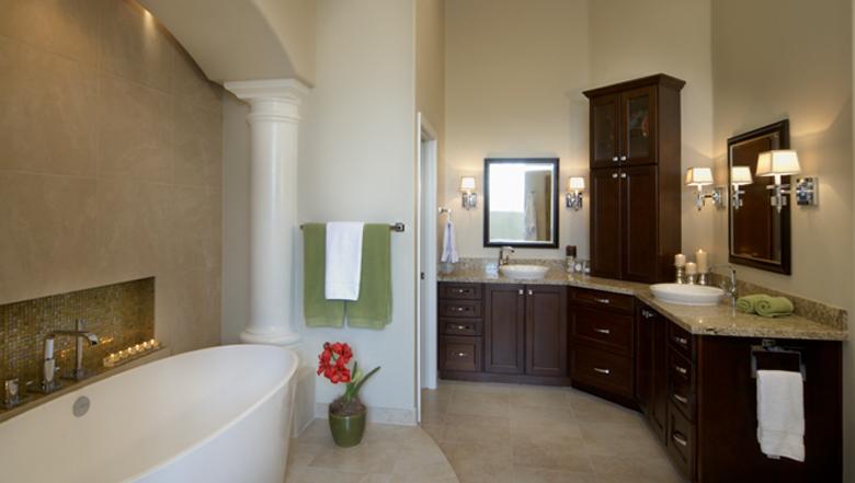 Ahwatukee Master Bathroom Spa award winning Kitchen&Bath