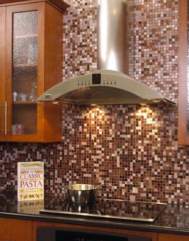 Gilbert open floor plan tile backsplash