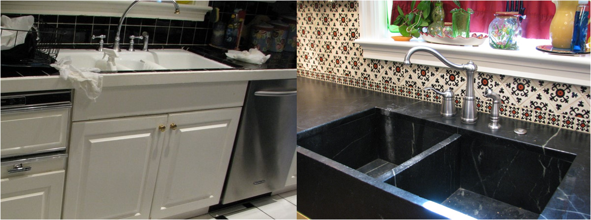 Custom Sink Kitchen Remodel in Phoenix