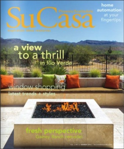 SuCasa feature editorial of Tri-Lite Builders Gainey Ranch remodel in Scottsdale Arizona