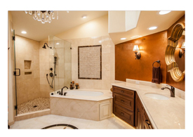 Chandler AZ master bathroom remodel.