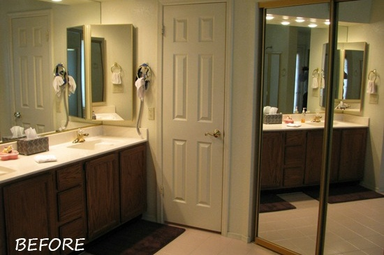 Tempe, AZ Bathroom Remodeling Contractor. Master bathroom renovation with a large soaking tub and accessible shower.