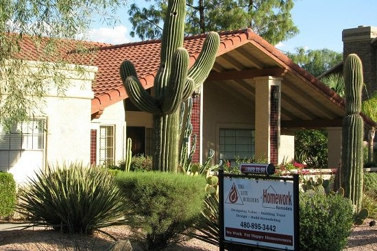 Chandler, AZ Home Addition Contractor-In-law home addition with a accessibility features.