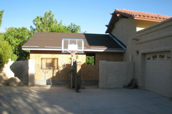 Paradise Valley, AZ Home Addition Contractor. In-law addition with accessibility features and kitchenette.