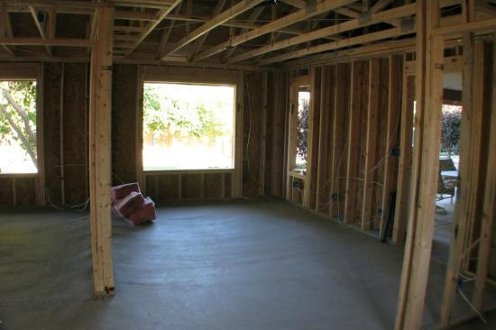 Mesa, AZ Home Addition Contractor-Mother-in-law 700 sf home addition with a accessibility features.