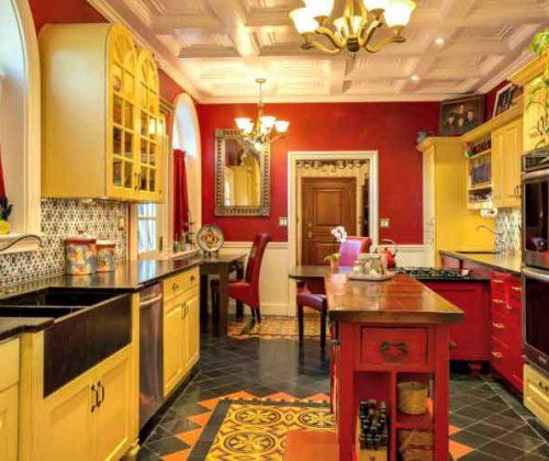 Kitchen: Hacienda Style